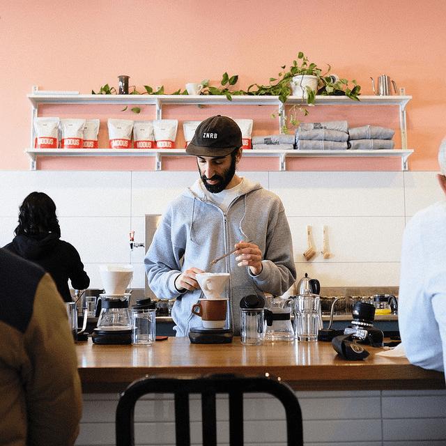 YVArcade Modus Coffee Vancouver