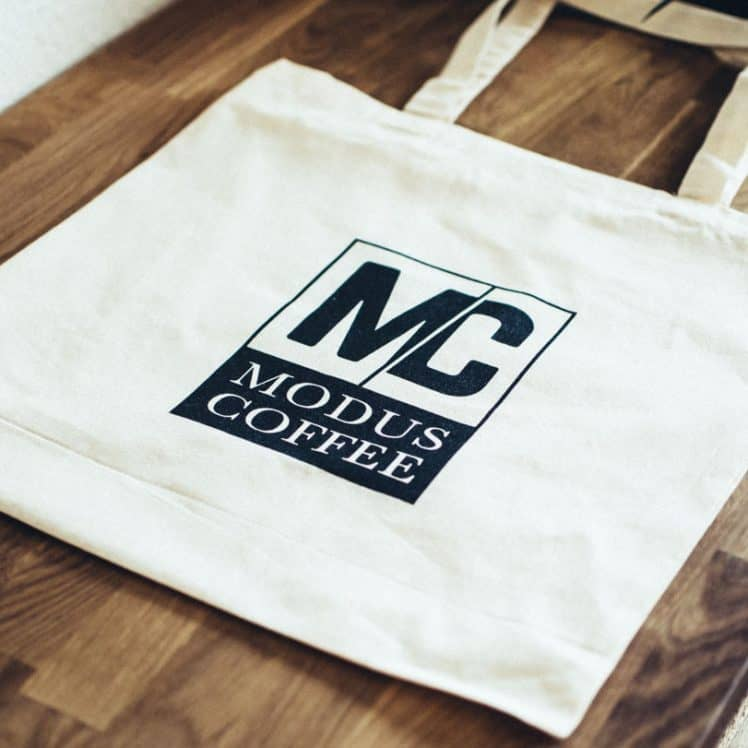 modus coffee tote