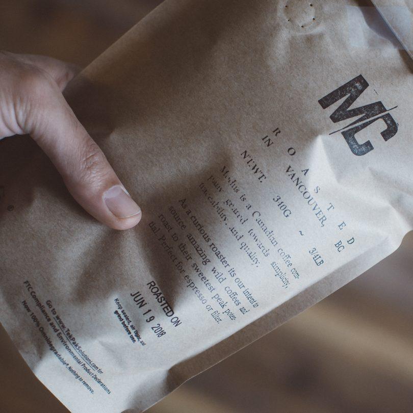 Modus coffee roasters package design