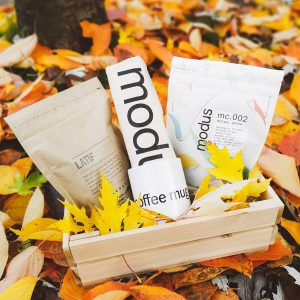 modus holiday coffee crate